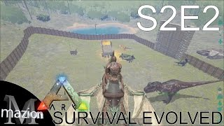 Beautiful ARK: Survival Evolved   Base Building With Sl1pg8r And Draax! Montage?! S2E2