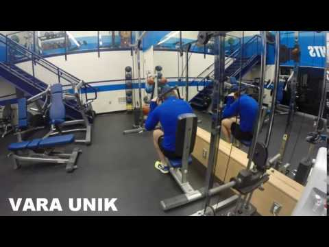 Overhead Seated Cable Crunch