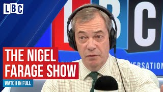 The Nigel Farage Show: The House of Lords, Huawei & Harry and Meghan | Watch live on LBC