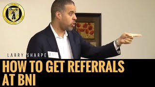 How to Get More Referrals at BNI