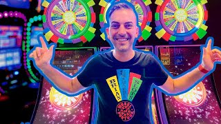 LIVE 🔴 MY BIGGEST JACKPOT EVER on Wolf Run 🐺 Wheel of Fortune Slots at Agua Caliente