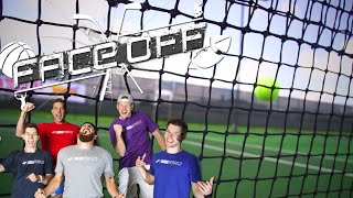 Dude Perfect Roller Skating Tennis | FACEOFF
