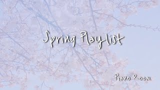 Spring Playlist (K-POP Spring Piano Cover) 봄에 듣기 좋은 노래 피아노커버 by.PianoRoom