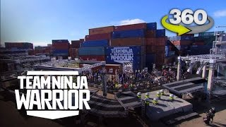 Run the Team Ninja Warrior Course in 360 Virtual Reality | Team Ninja Warrior | ANW