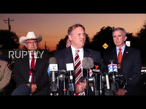 USA: Texas shooting suspect sustained self-inflicted gunshot wound - DPS commander