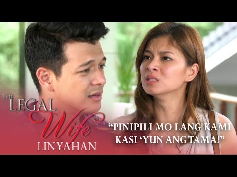 'Pinipili mo lang kami kasi yun ang tama!' | The Legal Wife Linyahan (Episode 28)