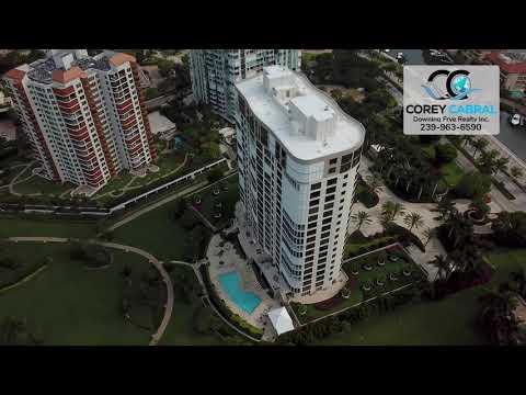 Park Shore Le Jardin Real Estate Flyover in Naples, Florida