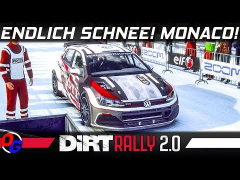 DiRT Rally 2.0 | VW Polo R5 in Monaco | Schnee + Eis | Dirt Rally 2 PC 4K Gameplay German Deutsch