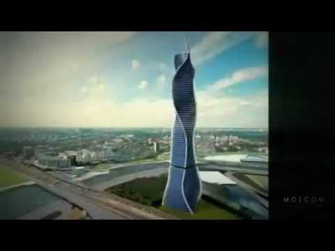 Двигающийся небоскреб в Дубае/Driving a skyscraper in Dubai