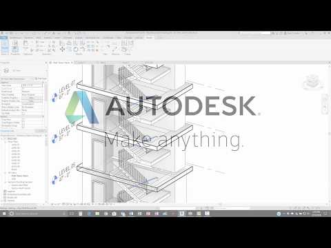 Revit 2019 Split Railings Demonstration