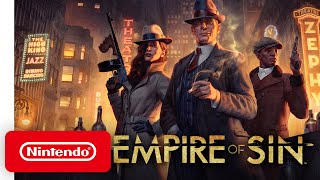 Empire of Sin - Pre-order Trailer - Nintendo Switch