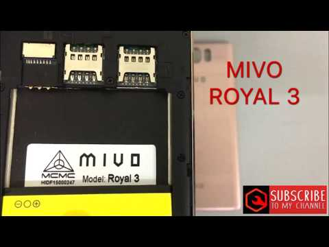 Bypass frp MIVO ROYAL 3 remove google account - смотреть