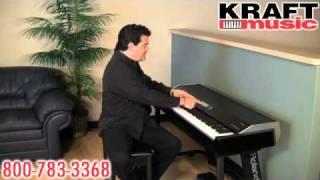 Kraft Music  Roland VPiano Demo With Rick DePiro