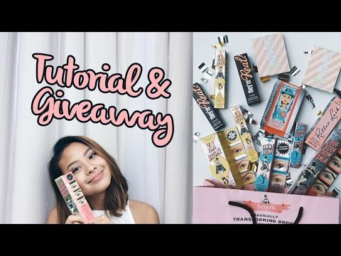 One Brand Makeup Tutorial: Benefit! + Giveaway!! (Closed)