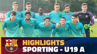 [HIGHLIGHTS] Sporting - Under 19 A (0-3) Copa del Rey