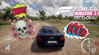 Forza Horizon 3 : BENTLEY VS NISSAN