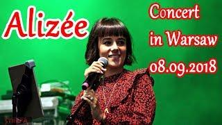 Концерт Alizée в Варшаве 08. 09. 2018 / Concert in Warsaw