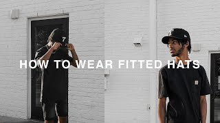 HOW TO CURVE AND WEAR FITTED HATS