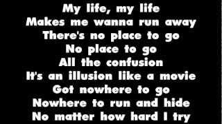 50 Cent Ft. Adam Levine & Eminem - My Life  - Lyrics