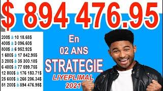 31729Je peux vous donner la stratégie de réinvestissement des packs Liyeplimal