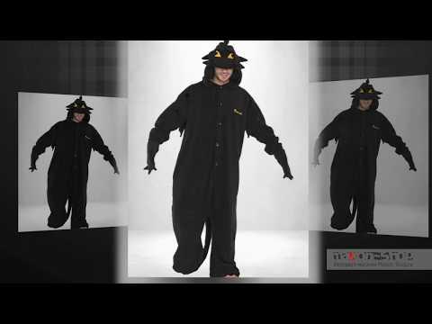 Дракон Беззубик мужская пижама кигуруми