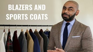 The 5 Blazers And SportsCoats Every Man Needs