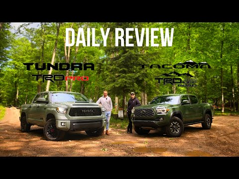 Toyota Tundra TRD PRO & Tacoma TRD Off-Road | Part 1: On-Road Manners, Design, Technology & Comfort