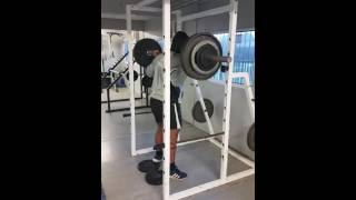 Paused Back Squat THP Development