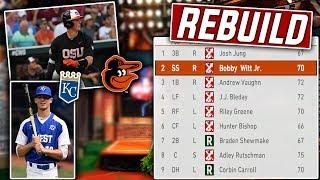 Full 2019 MLB Draft Rebuild Challenge! MLB The Show 19 Franchise Mode