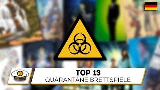 Top 13 Brettspiele für die Quarantäne