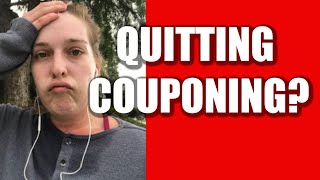 Vlogmas Day 1 - Quitting Couponing!?