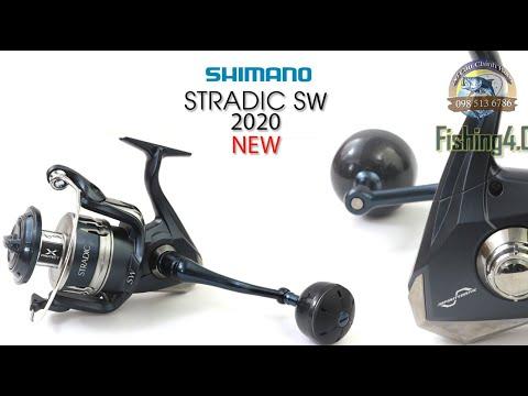 Máy Câu Shimano STRADIC SW 6000HG 8000HG 10000P - New 2020