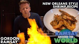 Gordon Ramsays Easy New Orleans Style BBQ Shrimp Recipe | Ramsay Around The World