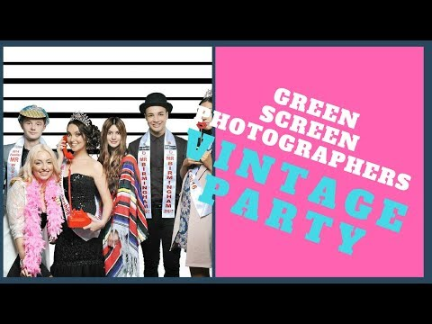 Green Screen Photographers Video