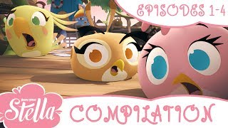 Angry Birds Stella Compilation | Season 1| Ep1 4