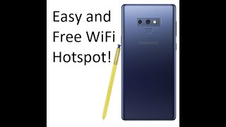 How to get free personal hotspot on any android with