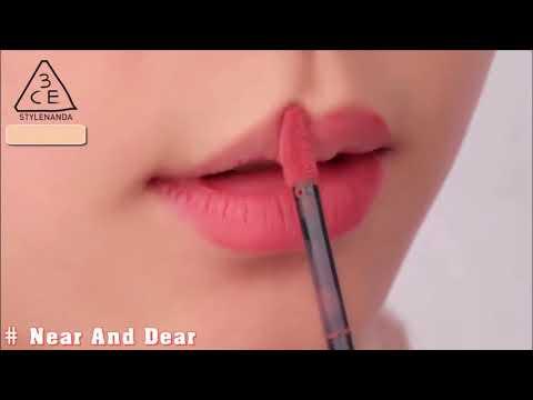 Hướng dẫn sử dụng son môi 3CE Velvet Lip Tint