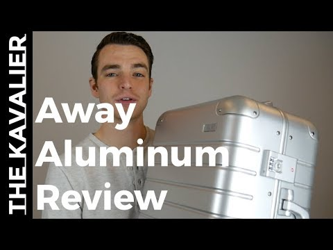 First Look: Away Aluminum Carry-On Unboxing