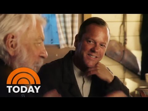 Kiefer, Donald Sutherland On Working Together For First Time | TODAY