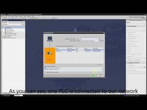 Siemens TIA Portal PLC tutorial - Upload program from PLC to TIA portal (PC)