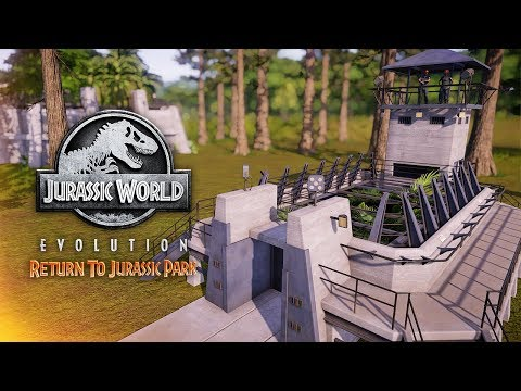 EVERY Building & Decoration In Return To Jurassic Park (Return To Jurassic Park DLC)