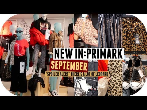 Download PRIMARK Come Shop With Me // September 2018 // Autumn is OFFICIALLY Leopard Print Season HD Mp4 3GP Video and MP3