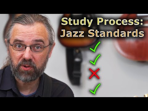 How To Learn a Jazz Standard - Important Exercises