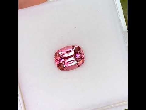 Flawless pink tourmaline