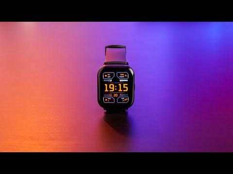 Обзор самых дорогих умных часов от Xiaomi - Zepp E Square