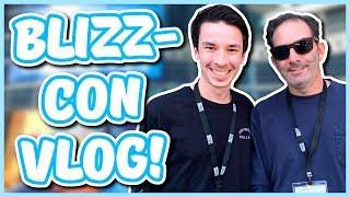 Overwatch - MEETING JEFF KAPLAN AT BLIZZCON (Blizzcon Vlog #1)