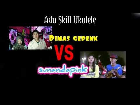 , title : 'Adu Skill Ukulele Dimas gepenk vs Sunandapink Cover Korban Janji (Keren Sunandapink)'