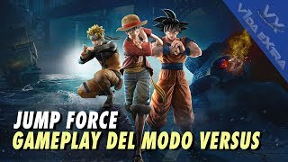 Jump Force - Gameplay del modo Versus