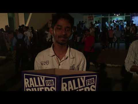 Gautham from IB hub shares for Rally for Rivers
