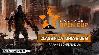 WARFACE | Classificatórias Open Cup Br (2 de 6) com BrisaSuave e Nicesho0t